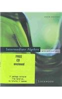 9780618386437: Intermediate Algebra with Applications
