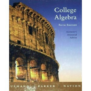 9780618386710: College Algebra (Instructor's Annotated Edition)