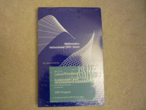 9780618388332: Houghton Mifflin Mathematics Instructional Dvd Series: Used with ...Larson-Algebra for College Students; Larson-Intermediate Algebra
