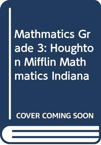 9780618388684: Houghton Mifflin Mathmatics Indiana: Student Edition Level 3 2005