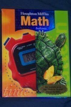 9780618388691: Houghton Mifflin Mathmatics Indiana: Student Edition Level 4 2005