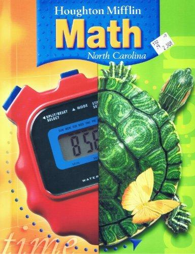 9780618388769: HOUGHTON MIFFLIN MATH 4th Grade - NORTH CAROLINA