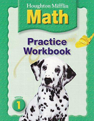 9780618389575: Houghton Mifflin Math: Grade 1, Practice Workbook (Houghton Mifflin Math © 2005)