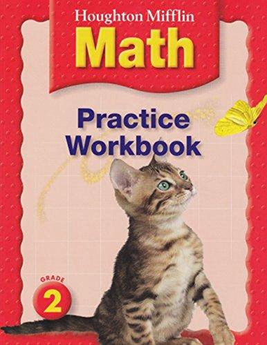 9780618389582: Houghton Mifflin Mathmatics: Practice Book Level 2