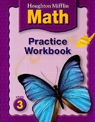 9780618389599: Houghton Mifflin Math: Practice Workbook, Grade 3