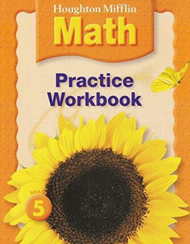 9780618389612: Houghton Mifflin Mathematics: Practice workbook, Level 5