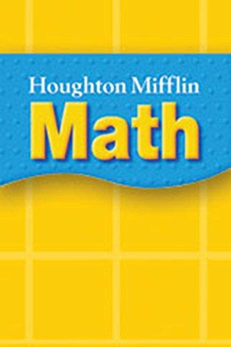 9780618389803: Houghton Mifflin Math: Blocks Cubes & Counters Kit Grades K-2