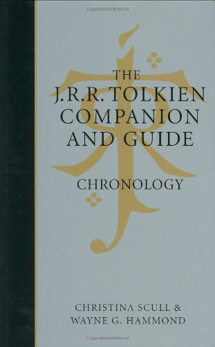 9780618391028: The J.R.R. Tolkien Companion & Guide: Chronology: 1