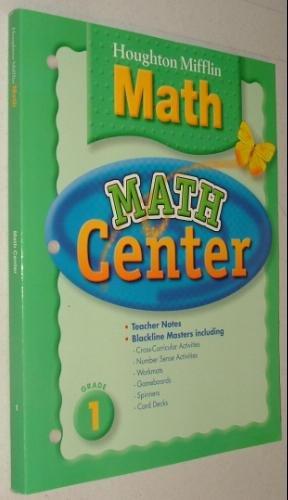9780618392346: Houghton Mifflin Math Center, Level 1 (Houghton Mifflin Mathmatics)