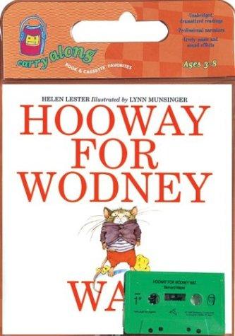 9780618394043: Hooway for Wodney Wat Book & Cassette (Carry Along Book & Cassette Favorites)