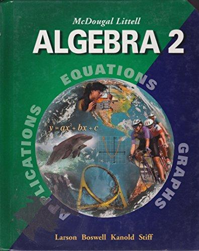 9780618394357: Mcdougal Littell Algebra 2 teacher edition