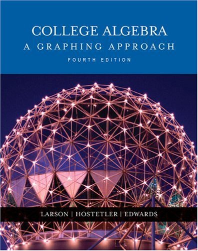 9780618394371: College Algebra: A Graphing Approach