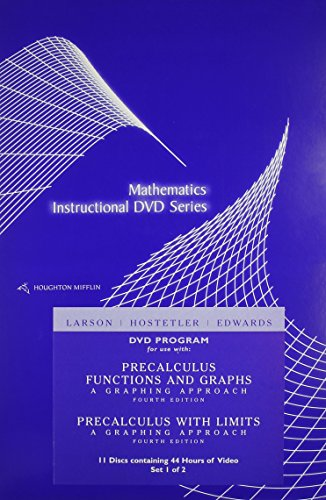 9780618394876: Precalculus With Limits: A Graphing Approach