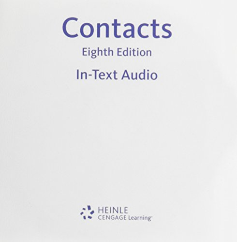 In-text Audio CD-ROM for Valette's Contacts: Langue et culture françaises, 8th (9780618395897) by Jean-Paul Valette; Rebecca M. Valette