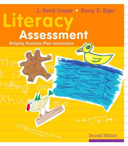 9780618395972: Literacy Assessment: Helping Teachers Plan Instruction