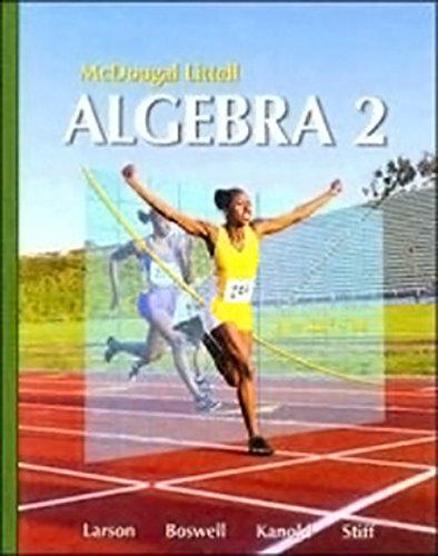 9780618396399: McDougal Littell Algebra 2: Personal Student Tutor 10 pack CD-ROM