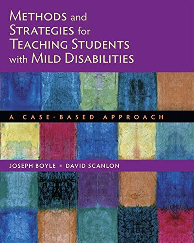 Methods and Strategies for Teaching Students with: Boyle, Joseph; Scanlon,