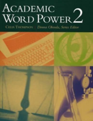 9780618397693: Academic Word Power 2
