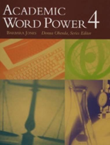 9780618397747: Academic Word Power 4