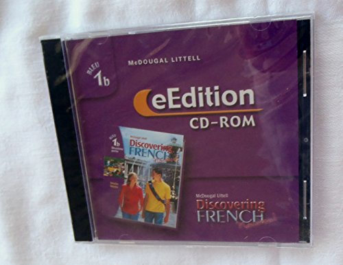 9780618398690: Discovering French, Nouveau!: eEdition CD-ROM Level 1B 2004