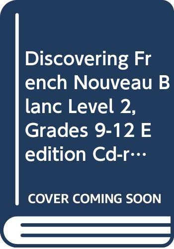 9780618398706: Discovering French, Nouveau!: eEdition CD-ROM Level 2 2004