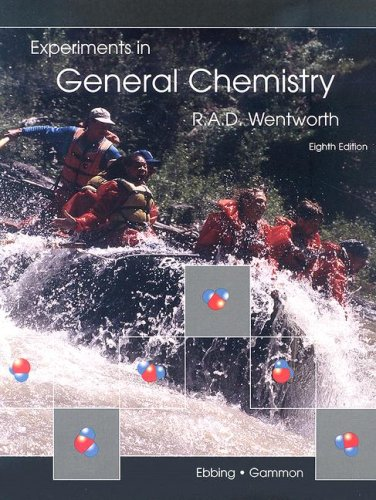 Laboratory manual chemistry abebooks lab manual for ebbings general chemistry 8th rupert wentworth fandeluxe Images