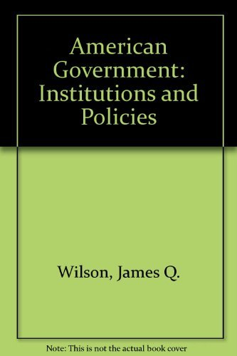 9780618400461: American Government With Upgrade Cd-rom, Ninth Edition