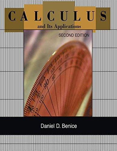 9780618400706: CALCULUS+ITS APPL.:CHP.1-10 >C