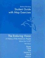 9780618400928: Enduring Vision, Volume 1, Custom Publication