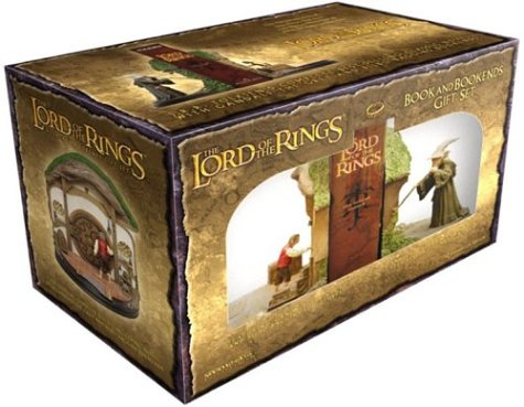9780618401215: The Lord of the Rings Book and Bookend Gift Set