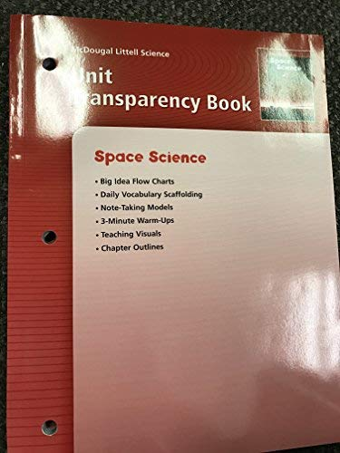 Unit Transparency Book, SPACE SCIENCE (McDougal Littell Science)