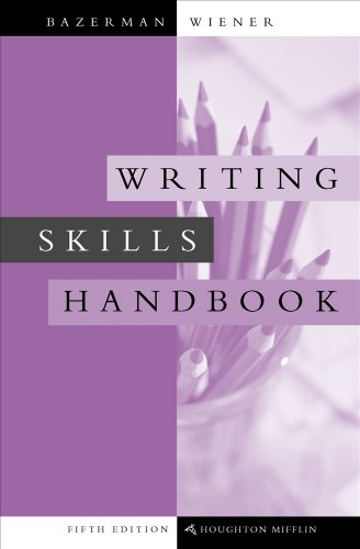 9780618406630: Writing Skills Handbook