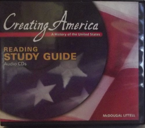 9780618407309: Creating America: A History of The United States: Reading Study Guide Audio CDs (English) Beginnings through World War l
