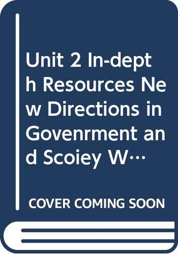 Unit 2 In-depth Resources New Directions in: McDougal Littell