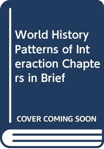 9780618409358: World History Patterns of Interaction Chapters in Brief