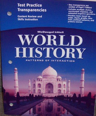 9780618409365: McDougal Littell World History: Patterns of Interaction: Test Practice Transparencies
