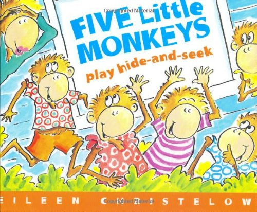 9780618409495: Five Little Monkeys Play Hide-and-Seek