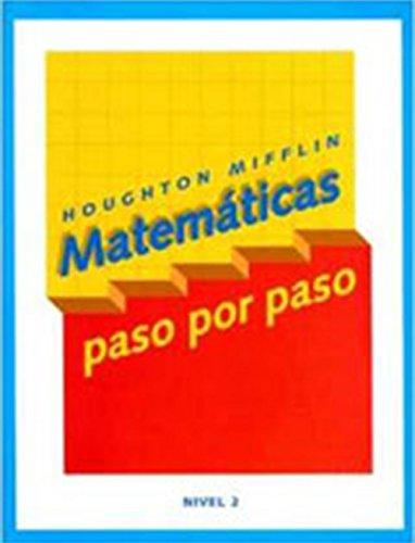 9780618409549: Math Steps Spanish: Student Edition Grade 2 2003 (Spanish Edition)