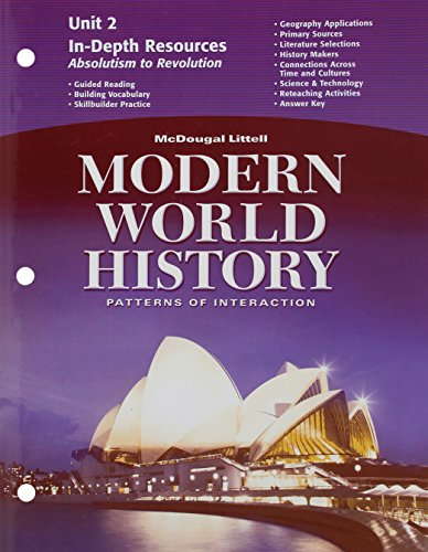 9780618409761: McDougal Littell World History: Patterns of Interaction: In-Depth Resources Unit 2 Grades 9-12 Modern World History