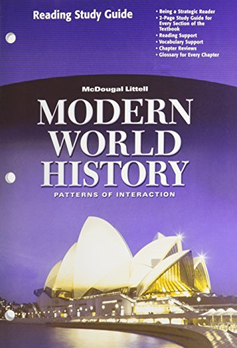 9780618409914: Modern World History: Patterns of Interaction: Reading Study Guide (English)