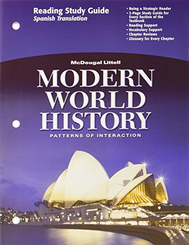 9780618409921: Modern World History: Patterns of Interaction: Reading Study Guide (Spanish) (Spanish Edition)