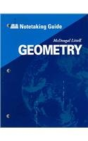 9780618410231: McDougal Littell High Geometry: Notetaking Guide (Student)