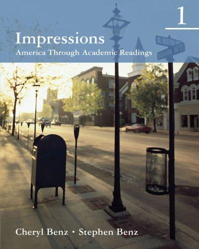 9780618410262: Impressions 1: America Through Academic Readings (Student Book)