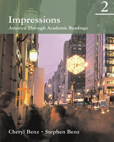 9780618410279: Impressions 2: America Through Academic Readings (Impressions: America Through Academic Readings)