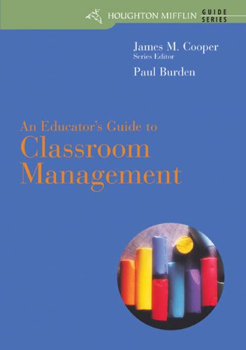 9780618412730: An Educator's Guide to Classroom Management (Houghton Mifflin Guide Series)