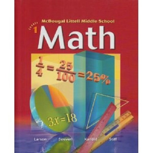 McDougal Littell Middle School Math Indiana: Standards: MCDOUGAL LITTEL