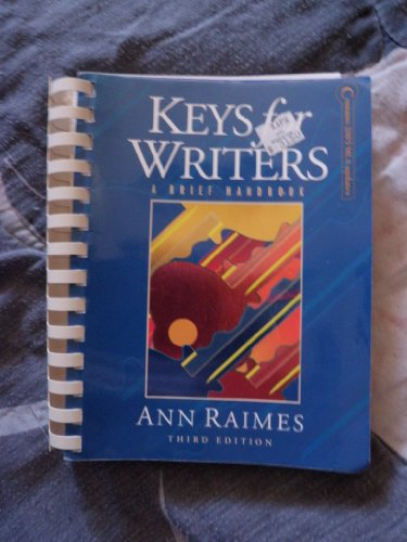 9780618415274: Keys For Writers Mla Update, Third Edition