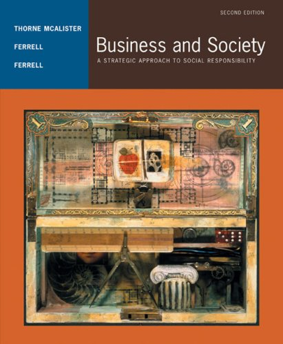 9780618415960: Business and Society: A Strategic Approach to Social Responsibility
