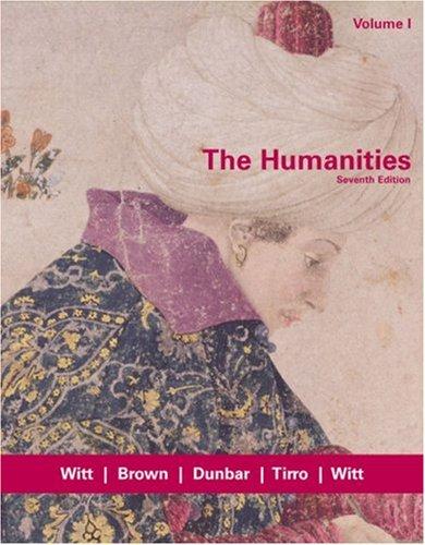 9780618417766: 1: The Humanities, Volume I