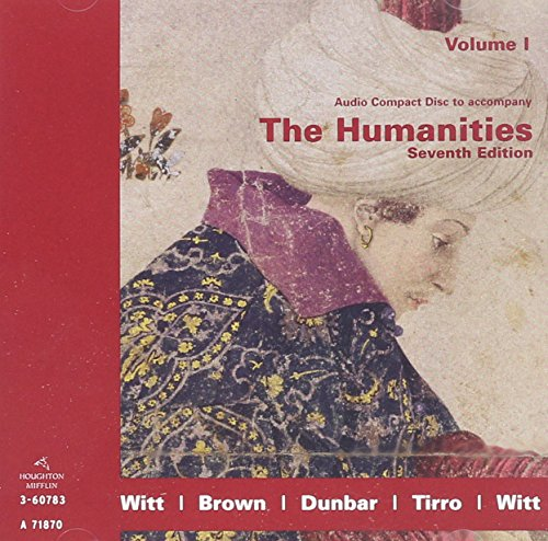 9780618417872: Audio Compact Disc to Accompany The Humanities Seventh Edition Volume I